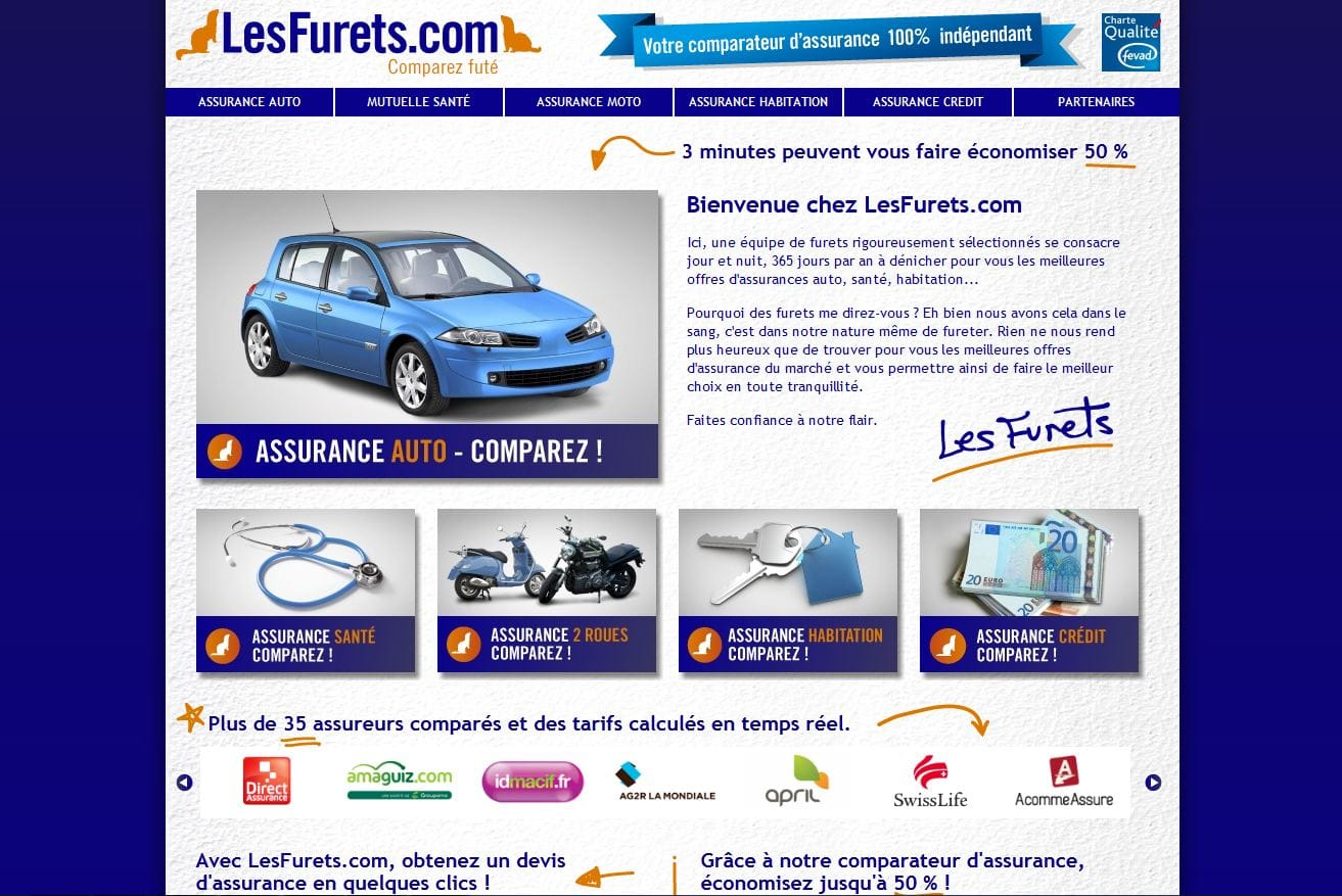 L utilit des comparateurs d assurance for Comparateur assurance garage